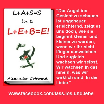 L+A+S=S los & L+E+B=E! Buch Liebe Zitat 2 Alexander Gottwald