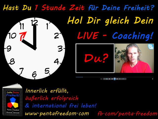 Penta Freedom Lebe Deine Freiheit 1 Stunde Coaching