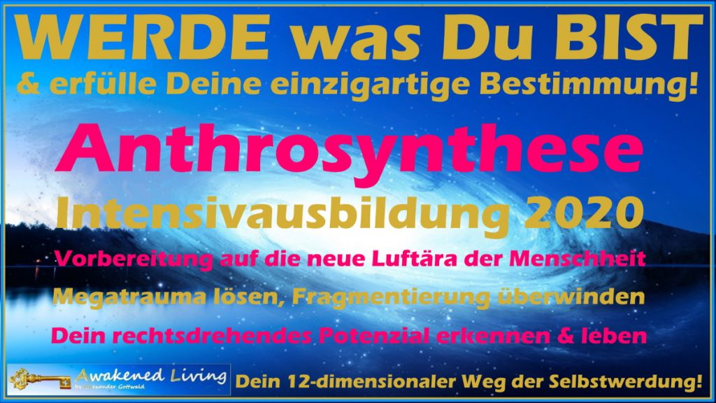 Anthrosynthese Intensiv Ausbildung 2020